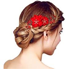 Hair Jewellery: Jewellery: Bands, Pins, Clips, Combs ... - Amazon.co.uk
