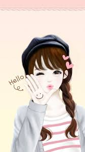 Korean Girl Drawing Anime Wallpapers ...