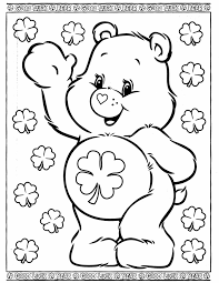 Small Picture Print Bear Color Page Free Printable For Kids Free Bear Coloring