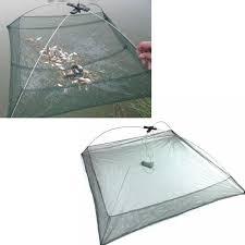 100X100cm Fishing Net Foldable Crawdad Fish <b>Shrimp</b> Fishpot <b>Cage</b>
