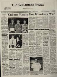Childress Index Newspaper Archives, Jan 25, 1977, p. 1