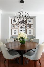 beautiful orb dining room light transitional dining room chandeliers round dining table with leaf