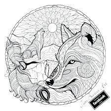 Grey Wolf Coloring Pages Realistic Wolf Coloring Pages To Print Grey