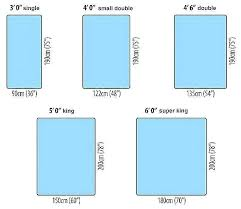 Mattress Size Chart European Bed Sized Crabbfamily Info