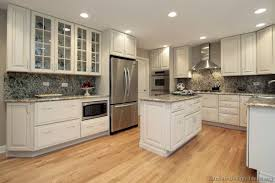 Tile Backsplash Ideas For White Cabinets Beauteous Charming Kitchen Backsplash Ideas With White Cabinets