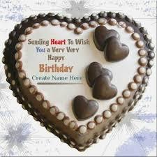 Heart Birthday Cake Images With Name Kidsbirthdaycakeideasga