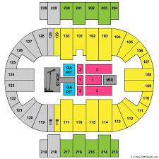 Pensacola Bay Center Seating Chart Pensacola Bay Center Tickets In Pensacola Florida Seating