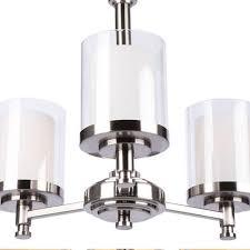 hampton bay 19704 000 burbank 3 light brushed nickel chandelier