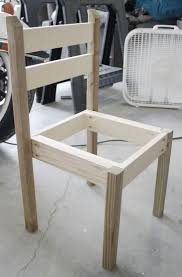 dining table woodworkers: building table and chair set out of wood scraps a good basic design not