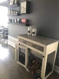 dog crate furniture diy dog crate