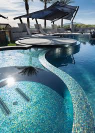 choosing the right color of glass tile is as important as selecting the size and shape of your pool and spa