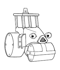 Small Picture Bob the builder Rollie coloring page