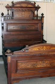 Renaissance Bedroom Furniture A Fine American Renaissance Walnut And Burled Walnut Bedroom Suite