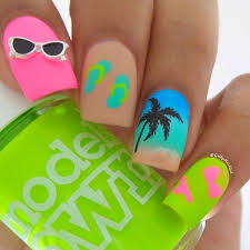 palm tree nail decals sandi pointe virtual library of collections