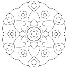Calming Mandala Coloring Pages Ideas About Mandalas For Kids On