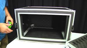 osp 6 space shock mount amp rack road tour flight case review you