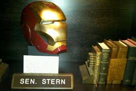 Howard Loves His Iron Man Helmet Howard Stern