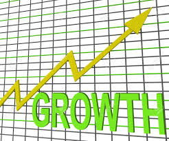 Chart Showing Increase Growth Graph Chart Showing Increase Sales Profit