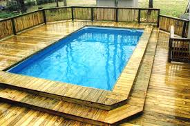 intex above ground swimming pool. Above Ground Swimming Pools With Decks Gallery Intex Pool