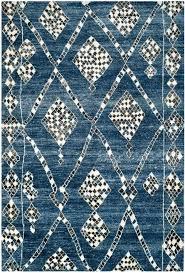 moroccan pattern navy rug prdise re