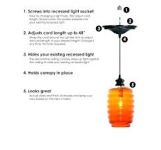 amazing convert can light to pendant and pendant light conversion kit convert can light to pendant