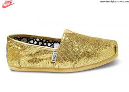 Latest Listing Gold Womens Glitters Toms Shoes Fashion Shoes Shop ...