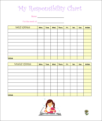 Free Printable Flow Chart Template Child Chores Chart Template Sada Margarethaydon Com