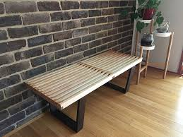 picture of make it mid century modern bench