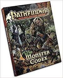 Pathfinder Roleplaying Game Monster Codex Amazon Co Uk