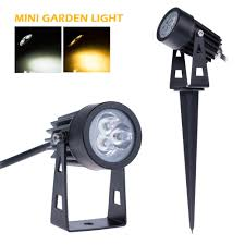 Us 5 99 45 Off 3 1w Ac85 265v Mini Led Garden Light Ip65 Waterproof Wram Cold Color Outdoor Decorate Lawn Lamp Flood Light With Wedge Freeship In