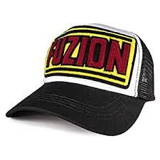 TyranT Fuzion Mesh Snapback Trucker <b>Hat</b> Structured <b>Curved Brim</b> ...
