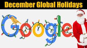 December global holidays 2020 Google ...