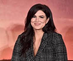 What did Gina Carano say about the Capitol riots?