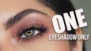 simple one eyeshadow makeup melissa alatorre