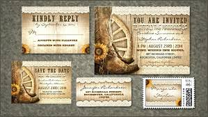 Wedding Invitation Set Templates Read More Cowboy Shoes Wedding Invitation Set Templates Western