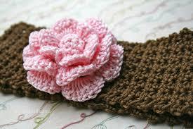 Crochet Baby Headband Pattern Unique Crochet Baby Headband Pattern With Flower This Is A Digital File