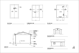 1 2 3 4 Car Garage Blueprints4 Car Garage Size