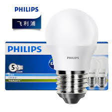 philips led bulbs eye protection energy saving lamp chandelier ceiling lamp ceiling lamp highlight bulb 5w bulb four white light