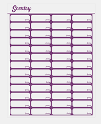 scentsy vole pyo labels template scentsy crafts