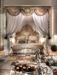 grand bedroom a grand bedroom with a grand breakfast waiting