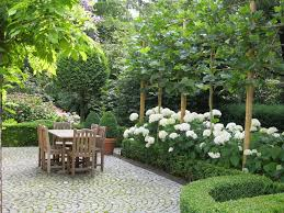 Comfortable Cottage Style Garden Design Featuring Classic House Romantic Cottage Gardens