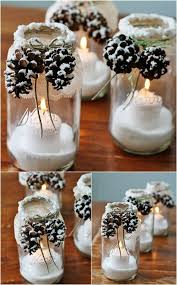 Mason Jar Decorating Ideas For Christmas Top Great Christmas Decoration Ideas for 60 Anyone Can Make 60 11