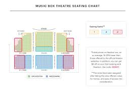 Broadway Theatre Seating Chart 47 Curious The Al Hirschfeld Theatre Seating Chart