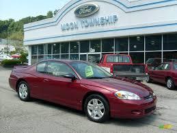 2007 Red Jewel Tint Coat Chevrolet Monte Carlo LT #16104898 ...