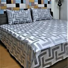 grey damask bedding tesco just linen thread count cotton jacquard sheet set with deep pocketed black white grey damask bedding purple and sets
