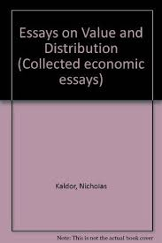 collected economic essays no essays on value  9780715601174 collected economic essays no 1 essays on value and distribution