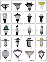 different lighting styles. different lamp shades modern styles die cast aluminum for garden park lighting g