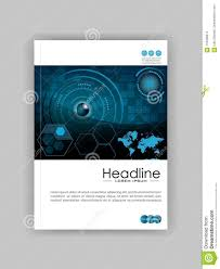Book Cover Design Software Download Blue A4 Hud Business Book Cover Design Template Good For
