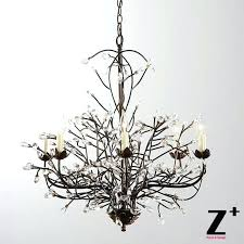 tree branch shadow chandelier the chandelier