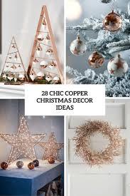 28 Chic Copper Weihnachtsdekor Ideen Megapanorg